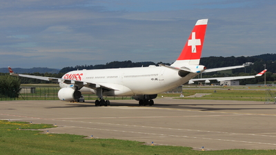 A picture of HBJHE - Airbus A330343 - Swiss - © Christoph Plank