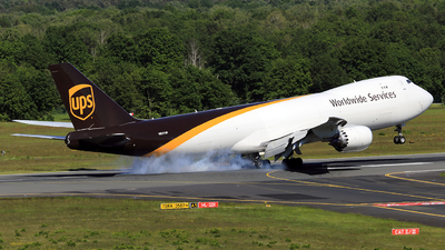 A picture of N617UP - Boeing 7478F - UPS - © Helmut Schnichels