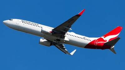 A picture of VHXZH - Boeing 737838 - Qantas - © Brandon Giacomin