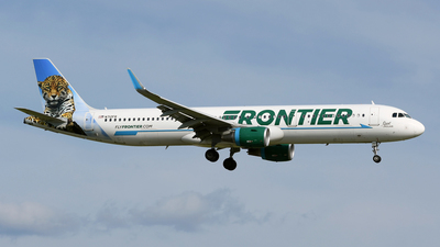 N712FR - Airbus A321-211 - Frontier Airlines