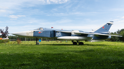 26 - Sukhoi Su-24M Fencer - Belarus - Air Force