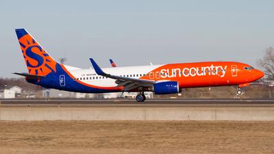 N860AM - Boeing 737-86N - Sun Country Airlines