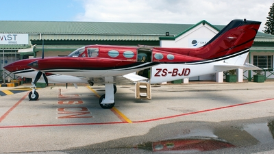 ZS-BJD - Cessna 421B Golden Eagle - Private