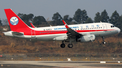 B-6453 - Airbus A319-133 - Sichuan Airlines