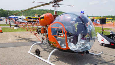 N3079G - Bell 47G-3B - Private