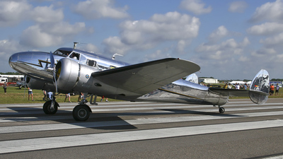 NC2072 - Lockheed 12A Electra Junior - Private