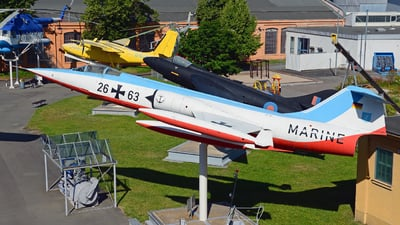 26-63 - Lockheed F-104G Starfighter - Germany - Navy