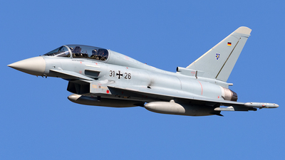 31-26 - Eurofighter Typhoon EF2000(T) - Germany - Air Force