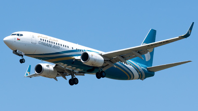 A4O-BAB - Boeing 737-81M - Oman Air