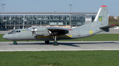 01 - Antonov An-24B - Ukraine - Air Force