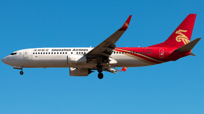 A picture of B1993 - Boeing 73787L - Shenzhen Airlines - © Meng