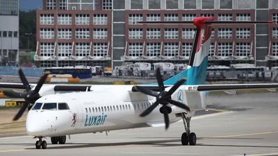 LX-LGA - Bombardier Dash 8-Q402 - Luxair - Luxembourg Airlines