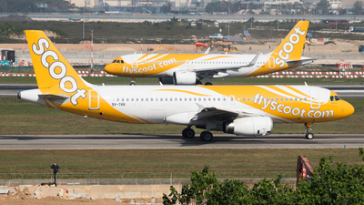 9V-TRR - Airbus A320-232 - Scoot