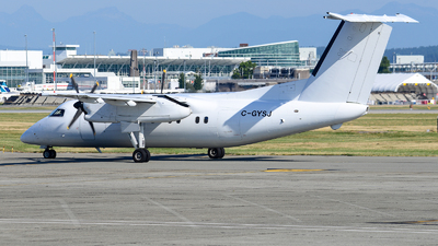 A picture of CGYSJ - De Havilland Canada Dash 8100 - Central Mountain Air - © Chung Kwok