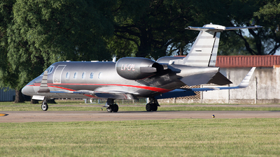 LV-CPL - Bombardier Learjet 60 - Private