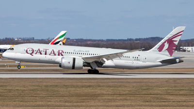 A picture of A7BCJ - Boeing 7878 Dreamliner - Qatar Airways - © Tim Donell