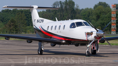 N412MW - Pilatus PC-12/47E - Private