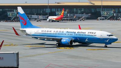 B-1507 - Boeing 737-87L - Kunming Airlines
