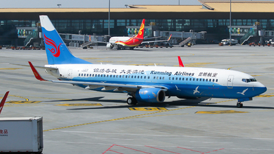 A picture of B1507 - Boeing 7378LY - Kunming Airlines - © ceci wong
