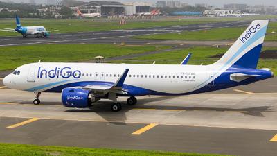 A picture of VTITI - Airbus A320271N - IndiGo - © Aneesh Bapaye
