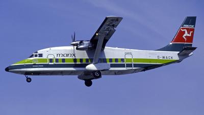 G-WACK - Short 360-100 - Manx Airlines