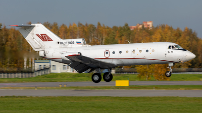 RA-87908 - Yakovlev Yak-40 - Vologda Air