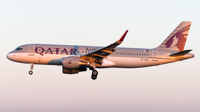 A7-LAB - Airbus A320-214 - Qatar Airways