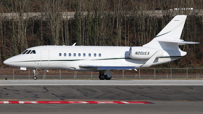 N202EX - Dassault Falcon 2000EX - Private