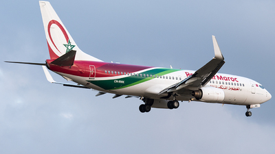 A picture of CNRNK - Boeing 7378B6 - Royal Air Maroc - © Selzam-Rosser