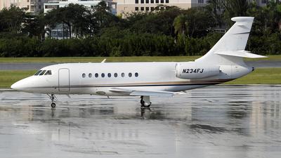 N234FJ - Dassault Falcon 2000EX - Private