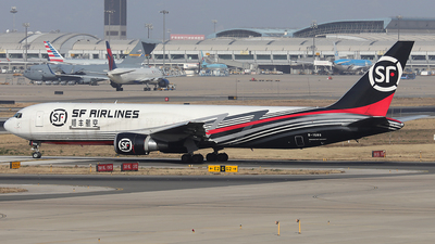 B-1589 - Boeing 767-338(ER)(BCF) - SF Airlines