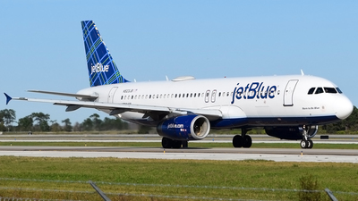 A picture of N523JB - Airbus A320232 - JetBlue Airways - © Doug Marsh