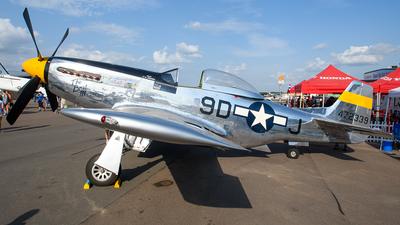 NL51JC - North American P-51D Mustang - Cavanaugh Flight Museum