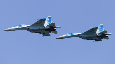 21 - Sukhoi Su-27SM Flanker - Ukraine - Air Force