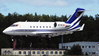 OE-INJ - Bombardier CL-600-2B16 Challenger 604 - Amira Air
