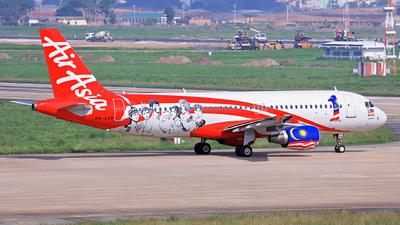 9M-AFP - Airbus A320-216 - AirAsia