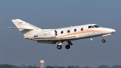 F-GSLZ - Dassault Falcon 100 - Harmony Jets Malta