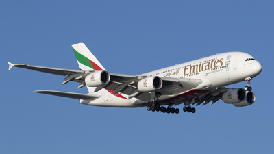 A6-EEM - Airbus A380-861 - Emirates