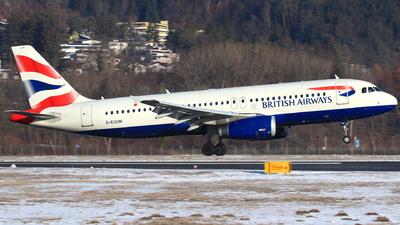 G-EUUM - Airbus A320-232 - British Airways