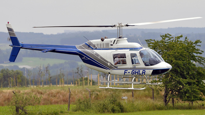 F-GHLR - Bell 206B JetRanger III - Héli Champagne Arden (HCA)