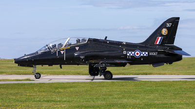 XX317 - British Aerospace Hawk T.1A - United Kingdom - Royal Air Force (RAF)