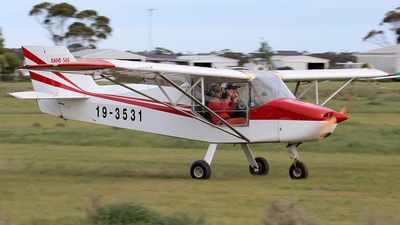 19-3531 - Rans S-6S Coyote II - Private