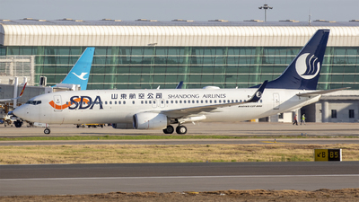 B-220X - Boeing 737-8JP - Shandong Airlines
