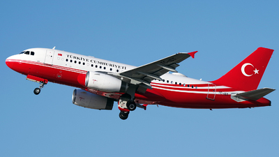 TC-IST - Airbus A319-133(CJ) - Turkey - Government