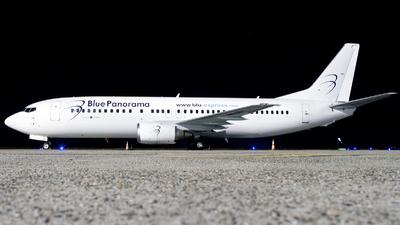 OM-DEX - Boeing 737-46J - Blue Panorama Airlines (Air Explore)