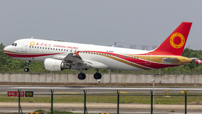B-8185 - Airbus A320-214 - Chengdu Airlines
