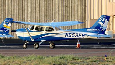 N653ER - Cessna 172S Skyhawk - Embry-Riddle Aeronautical University (ERAU)