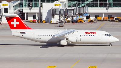 HB-IYZ - British Aerospace Avro RJ100 - Swiss
