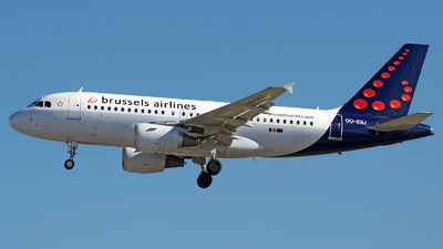OO-SSJ - Airbus A319-111 - Brussels Airlines