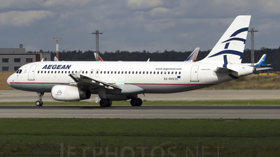 SX-DVS - Airbus A320-232 - Aegean Airlines